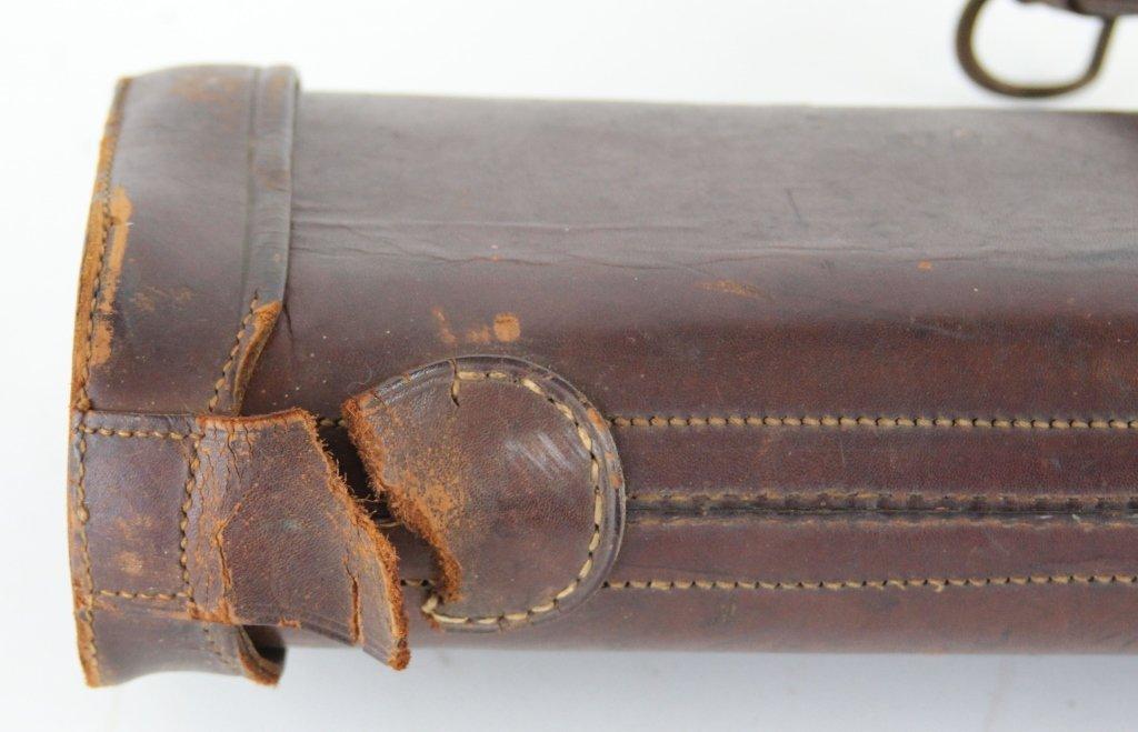 MIXED ACCESSORIES LOT GUN CASE POWDER HORNS - 9