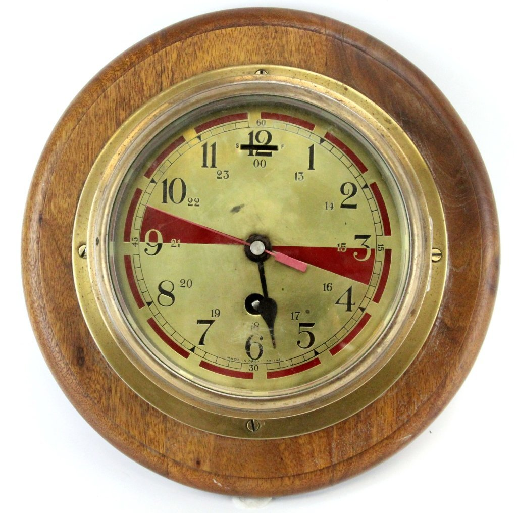 WWII BRITISH SMITHS ASTRAL SHIPS CLOCK
