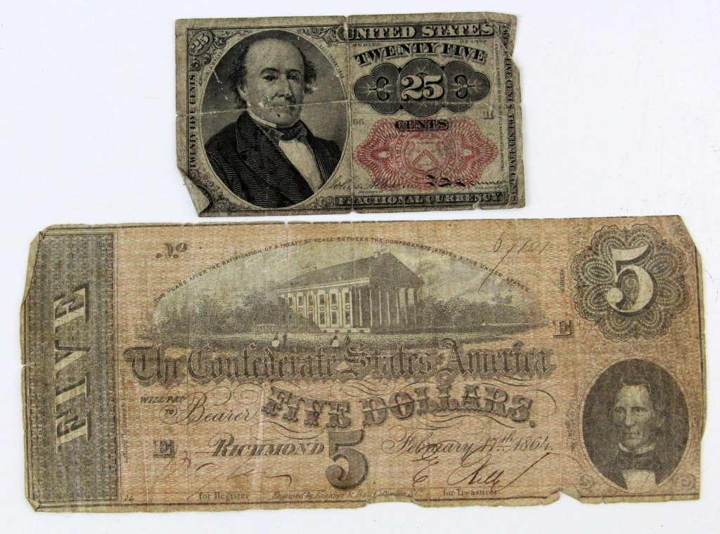 PERSONALS & MONEY OF FALLEN CIVIL WAR SOLDIER - 4