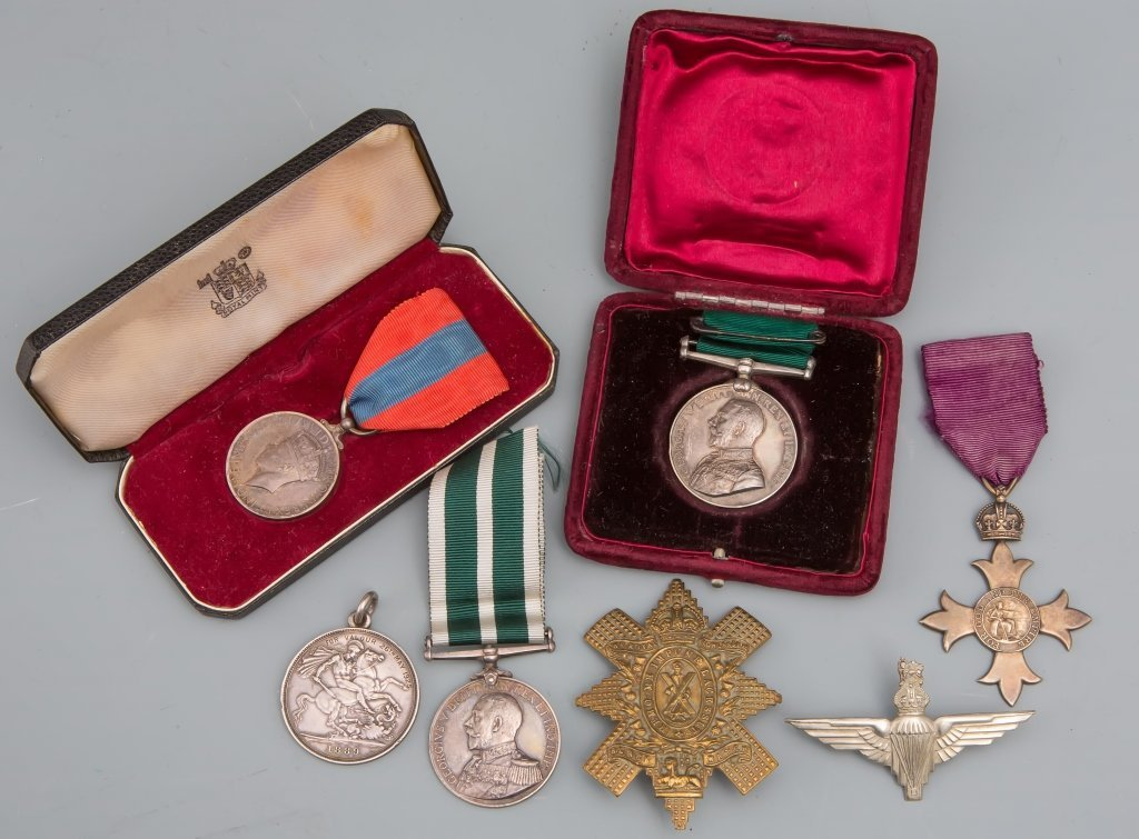 WWII BRITISH MEDAL GROUPING