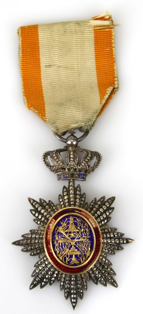 FRENCH ROYAL ORDER OF CAMBODIA MEDAL