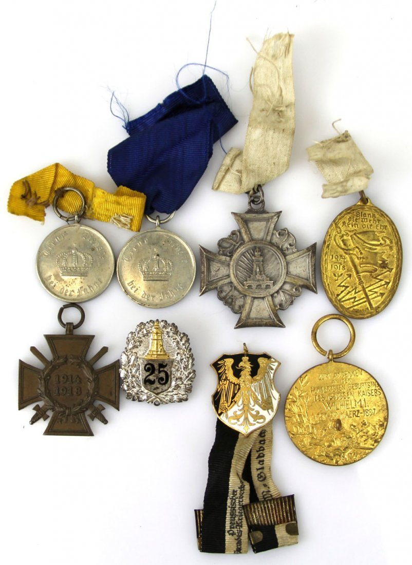 WWI GERMAN PRUSSIAN MEDALS