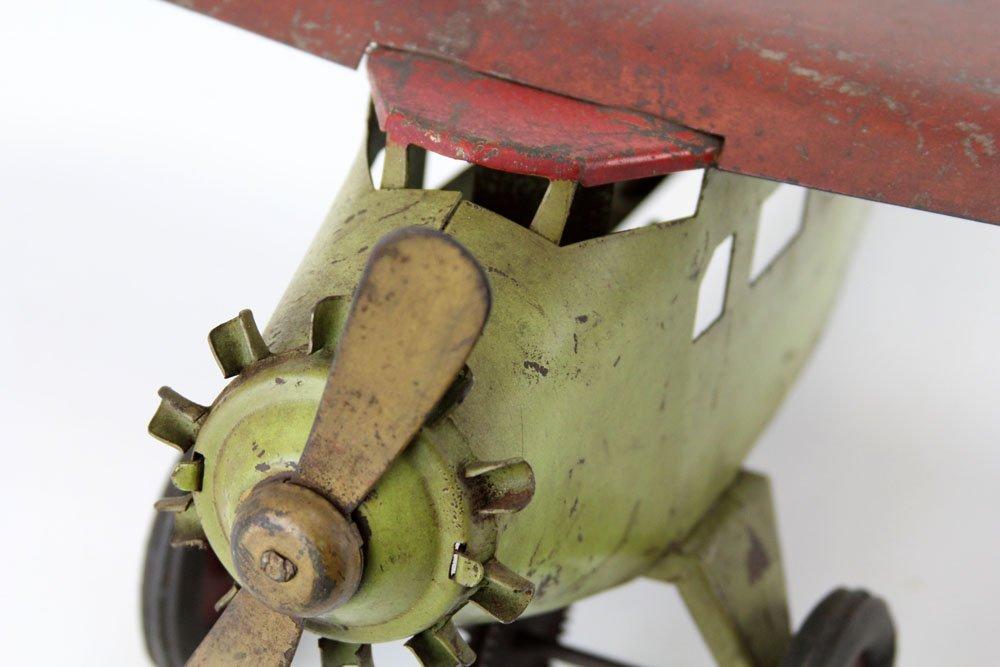 TURNER TOYS PRESSED STEEL TOY AIRPLANE - 2