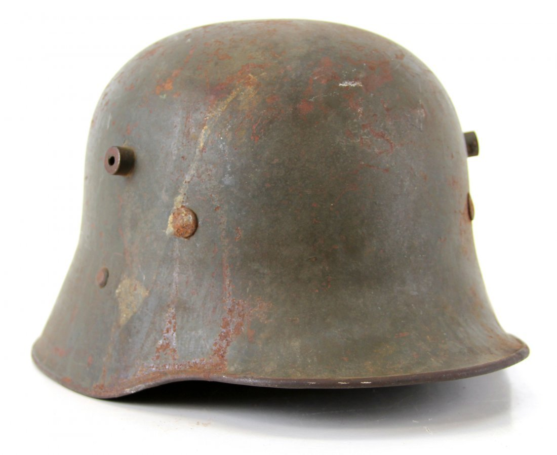 WWI AUSTRIAN M1916 HELMET WITH LINER