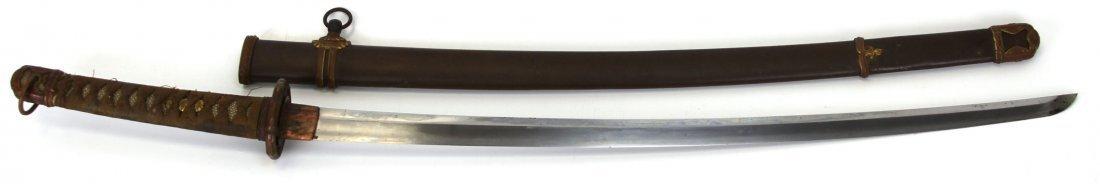 WWII JAPANESE SHIN-GUNTO KATANA SWORD SIGNED