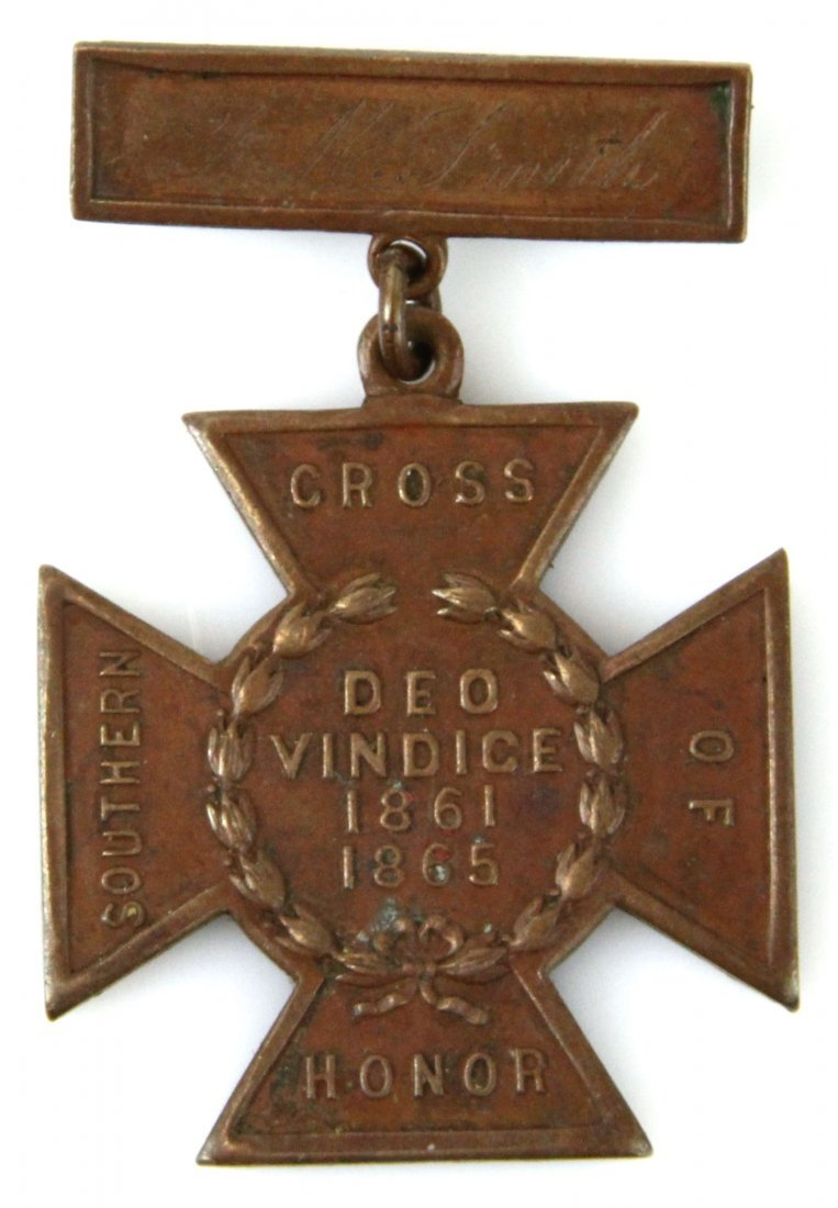 NAMED SOUTHERN CROSS OF HONOR BADGE