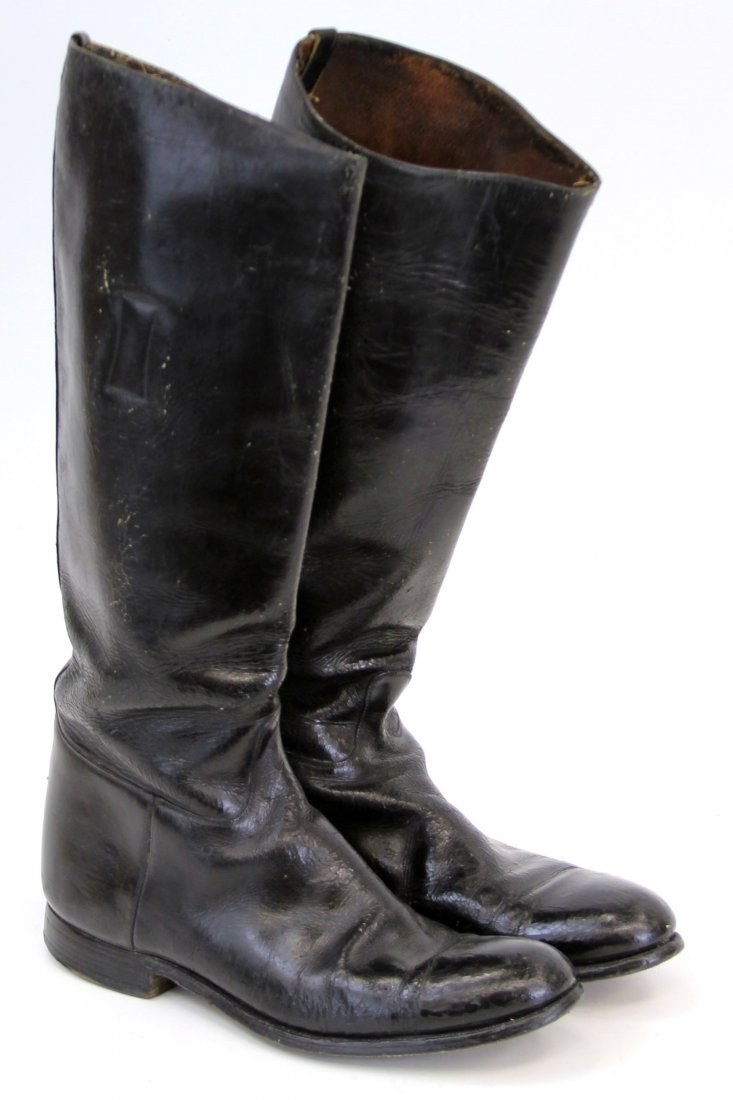 PAIR OF WWII GERMAN JACK BOOTS