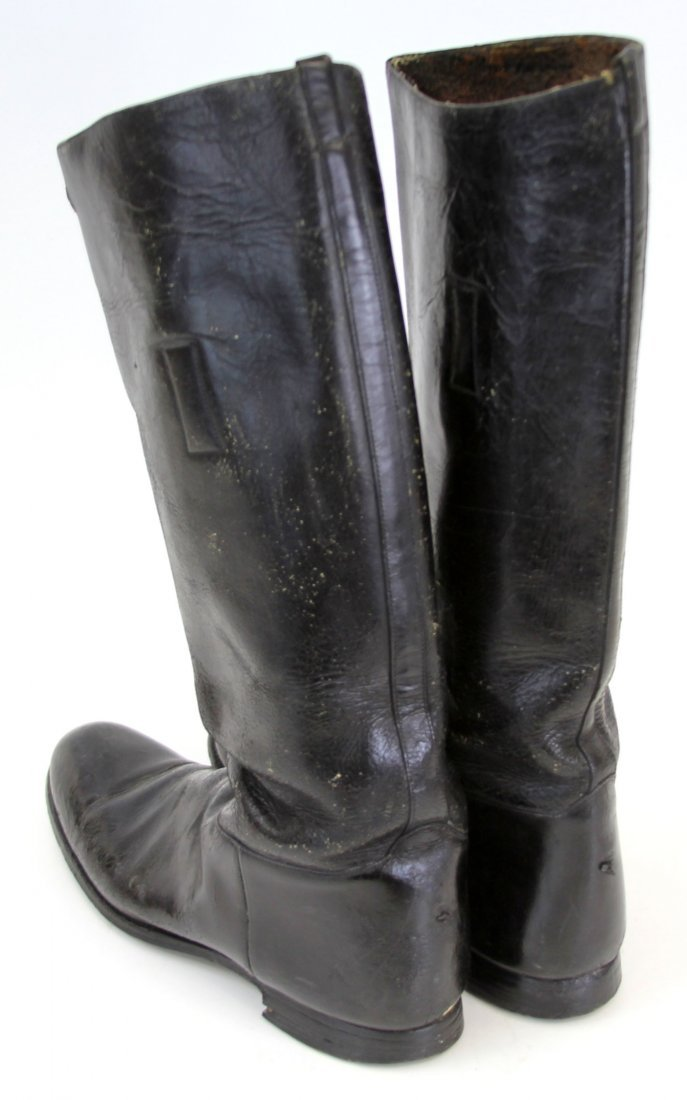 PAIR OF WWII GERMAN JACK BOOTS - 2