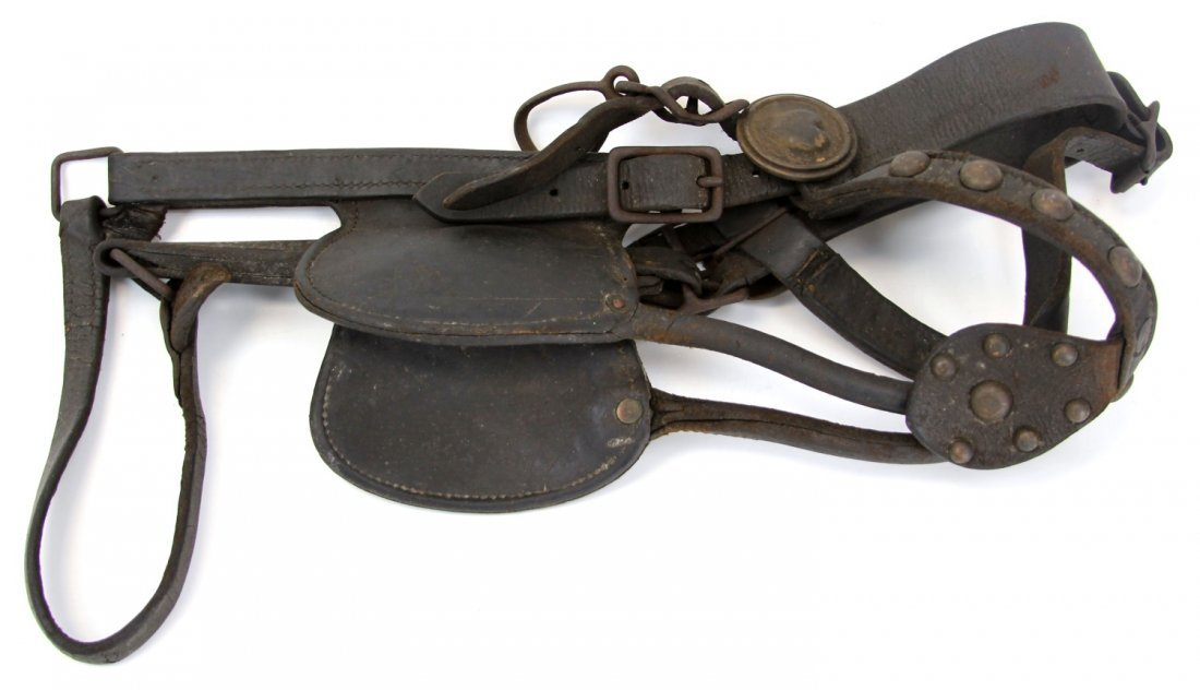 CIVIL WAR ERA HORSE BLINDER