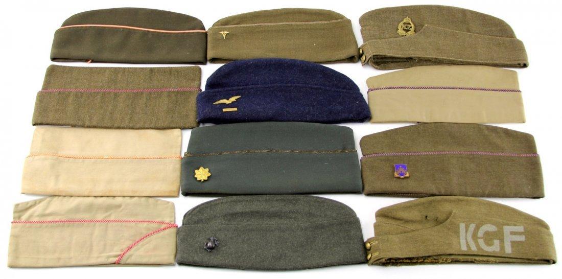 GARRISON SIDE CAP LOT OF 12