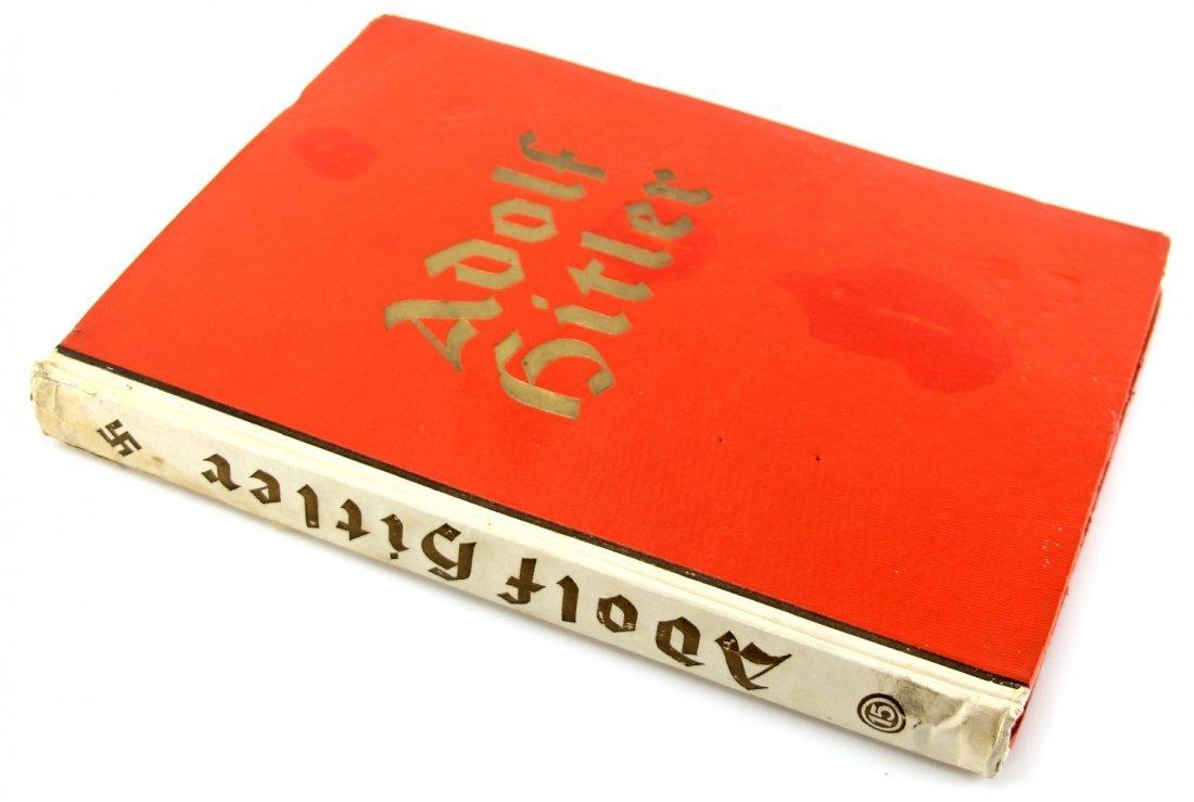 1935 ADOLF HITLER CIGARETTE CARD ALBUM