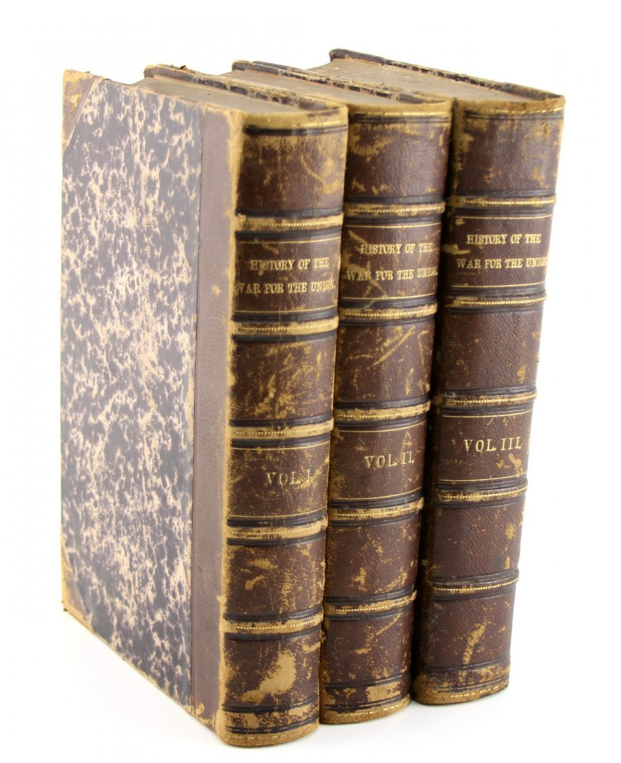 3 VOLUME SET HISTORY OF THE WAR FOR THE UNION