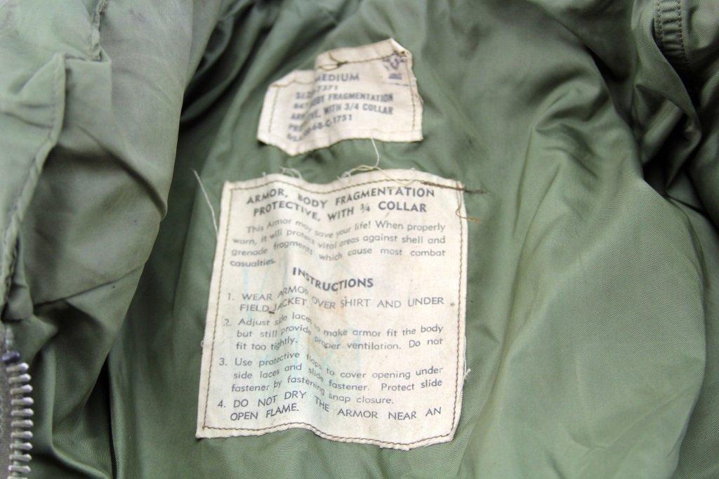 VIETNAM WAR US FLAK JACKET FRAGMENTATION VEST - 2