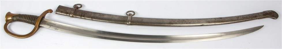 FRENCH M1840 LIGHT ARTILLERY SABER