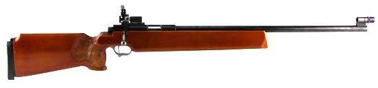SUHL MODEL 150 BENCH REST TARGET .22LR RIFLE