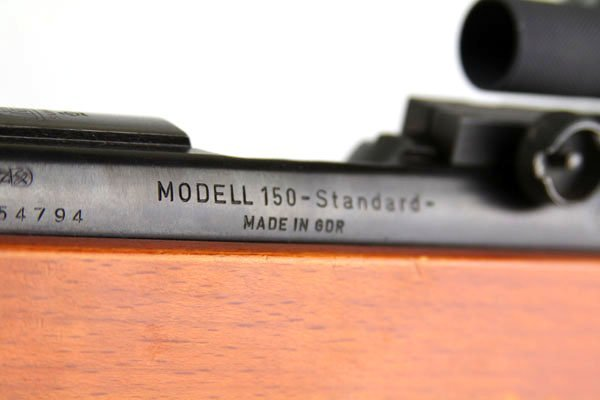 SUHL MODEL 150 BENCH REST TARGET .22LR RIFLE - 7