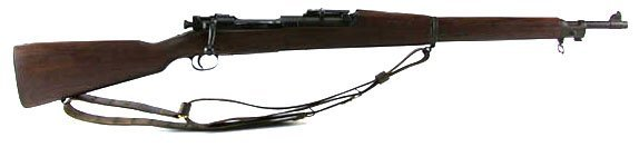 WWII US SPRINGFIELD ARMORY MODEL 1903A2 RIFLE