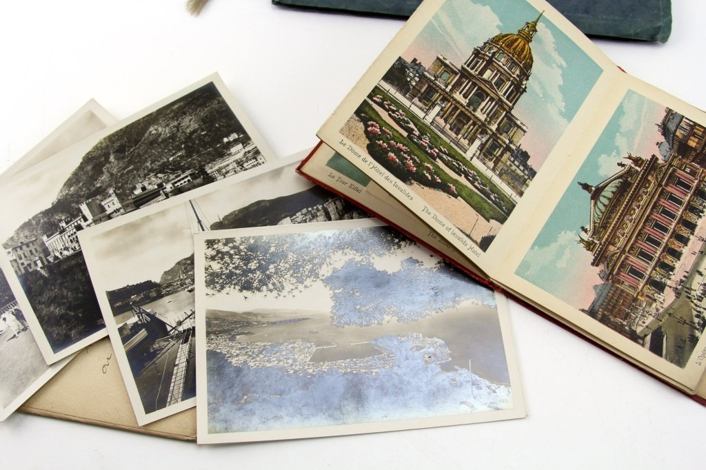 VINTAGE EUROPEAN TOURIST SOUVENIR PHOTO SETS - 2