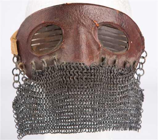 Rare British Wwi Tank Crew Splatter Mask