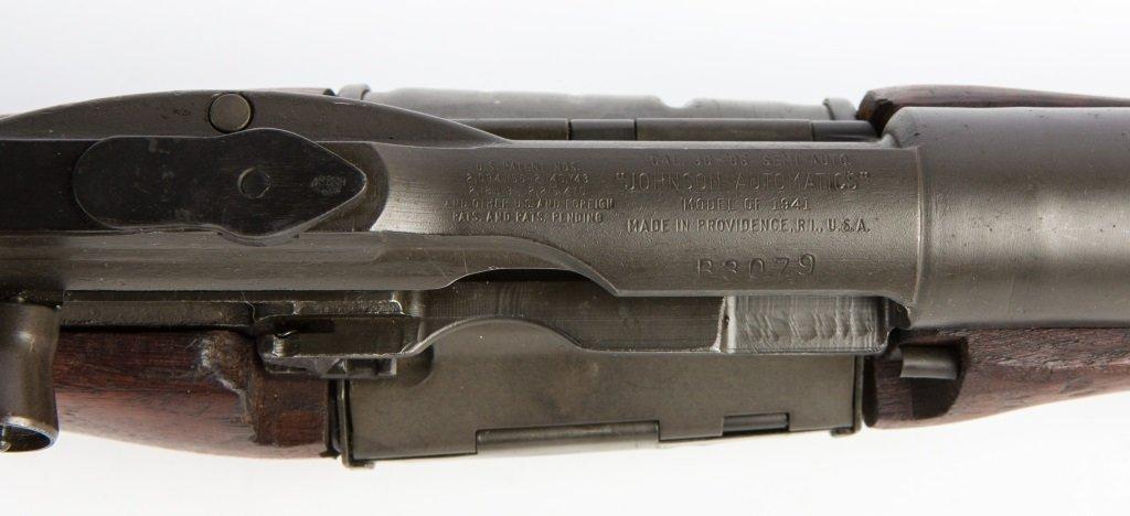 EXCELLENT WWII ERA JOHNSON MODEL 1941 RIFLE - 8