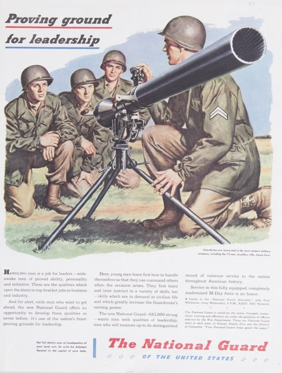 US ARMY 75mm RECOILESS RIFLE M20 ANTI-TANK WEAPON - 5