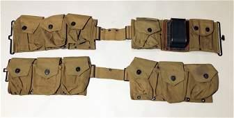 WWI US BROWNING MACHINE GUN BELT