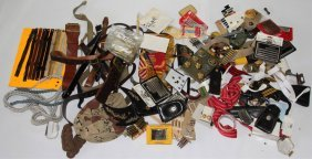 Large Lot Of Us Military Uniform Accessories