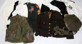 Us Military Uniform & Gear Lot