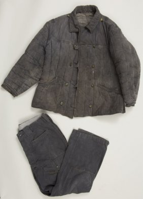 Wwii Soviet Winter Tanker's Quilted Uniform
