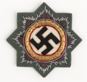 Wwii German Cloth Cross Medal