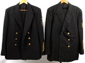 Wwii Us Navy Corpsman Uniform Lot Of 2