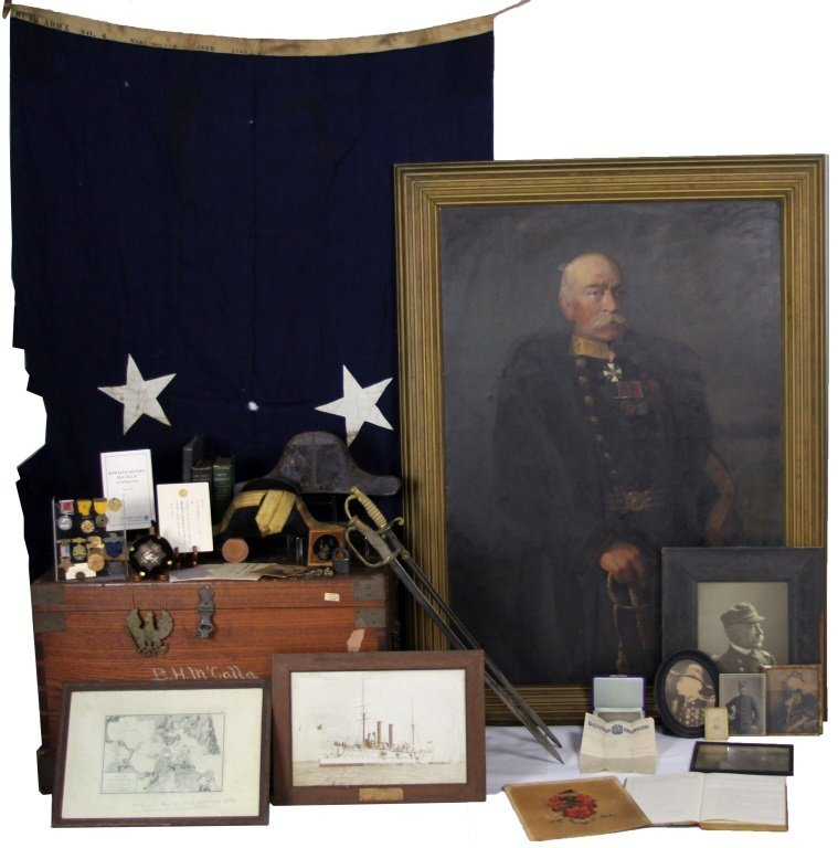 ARCHIVE OF US NAVY REAR ADMIRAL BOWMAN H. MCCALLA