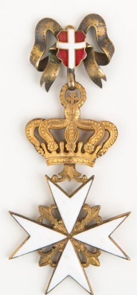 Military Order Of St John Of Jerusalem Medal