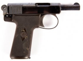 Webley & Scott Model 1908 Self Oading Pistol .32