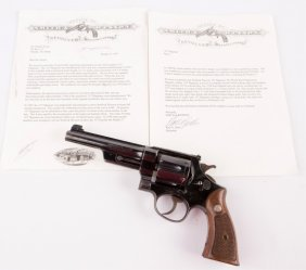 Smith & Wesson Registered Magnum With Letter