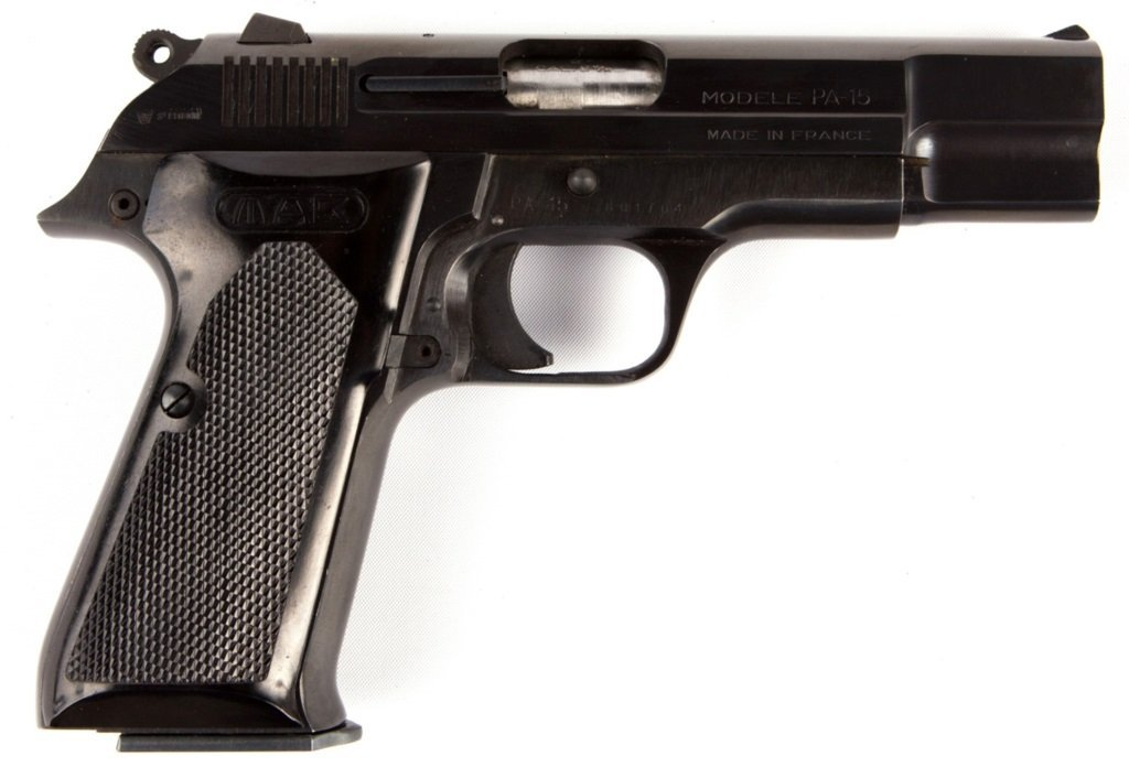 FRENCH MAB PA-15 PISTOL ST ETIENNE 9MM