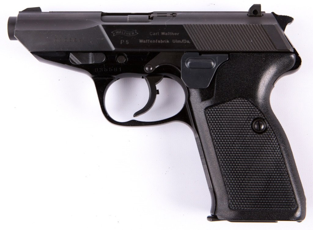 WALTHER P5 9MM PISTOL IN BOX - 3