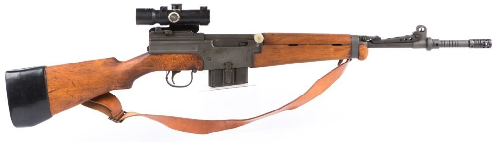 MAS Mle 1949-56 7.5 CAL RIFLE WITH APX L806 SCOPE