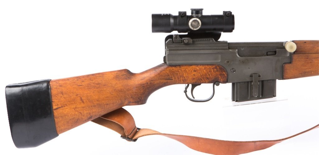 MAS Mle 1949-56 7.5 CAL RIFLE WITH APX L806 SCOPE - 2