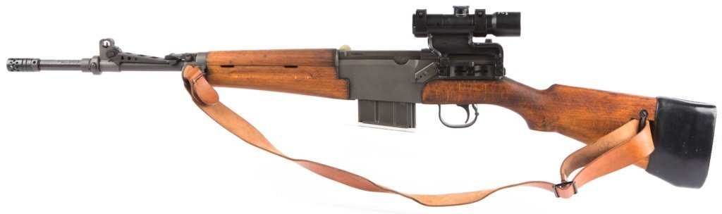 MAS Mle 1949-56 7.5 CAL RIFLE WITH APX L806 SCOPE - 4