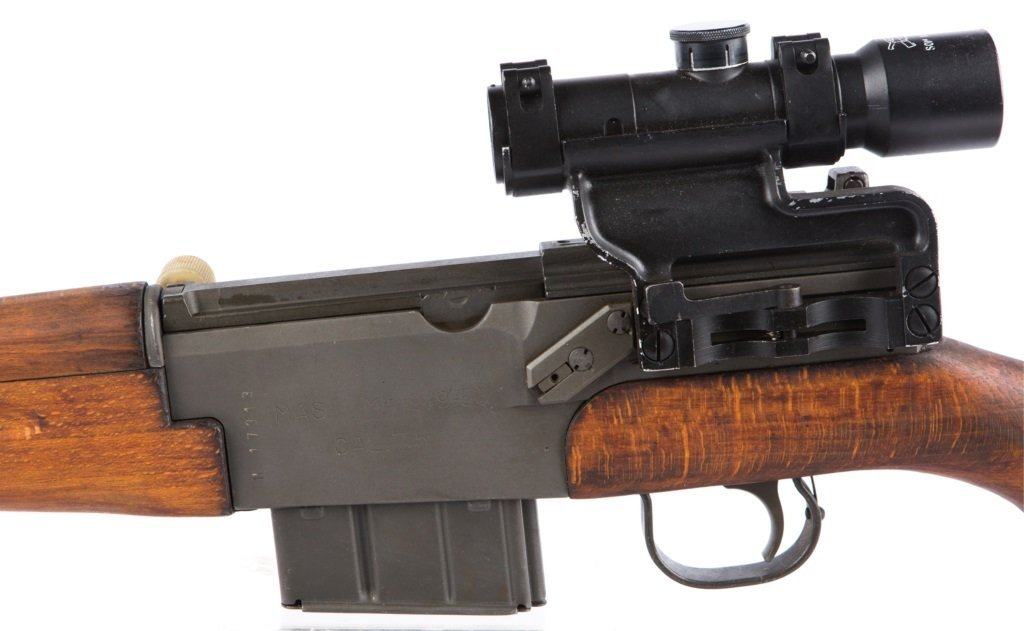 MAS Mle 1949-56 7.5 CAL RIFLE WITH APX L806 SCOPE - 5