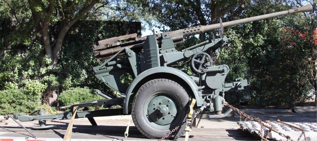 WWII RHEINMETALL MODEL 1939 37mm ANTIAIRCRAFT GUN