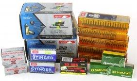 Lot Of New 22 Caliber Ammunition