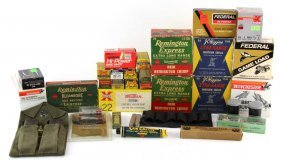 Lot Of Mixed Ammunition And Firearm Accessories