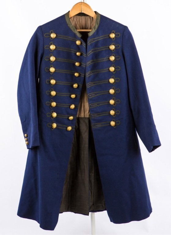 INDIAN WARS ERA STATE OF NEW JERSEY FROCK COAT