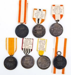 Prussian Merit Medal Lot Of 7