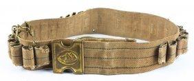 Mills Dog Head Cartridge Belt