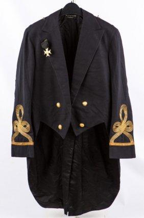 Us Navy Rhode Island 1902 Colonel's Dress Coat