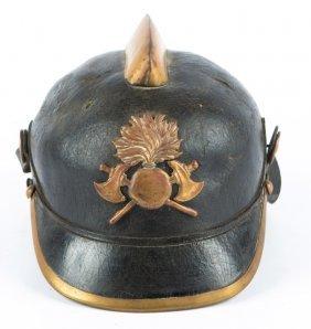 Wwi German Fire Helmet