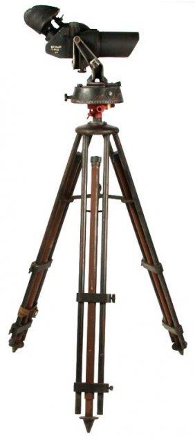 Wwii German Eug 10x80 Flak Binoculars
